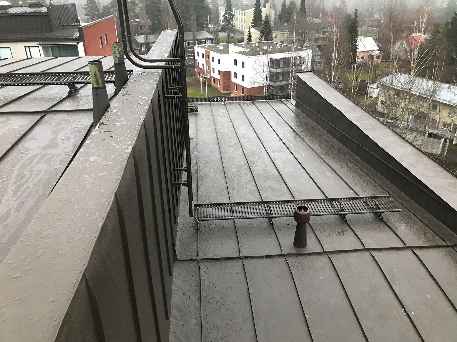 Turvallinen kulku katolla